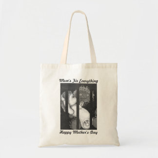 Happy Mother's Day Mom Fixes Everything Budget Tote Bag