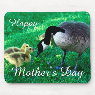 Happy Mother's Day - Mother Goose Mouse Pad