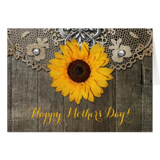 Happy Mother's Day | Mother's Day Card | Sunflower