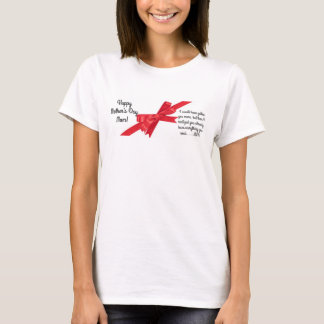 Happy Mother's Day Mum! Customisable T-Shirt Gift