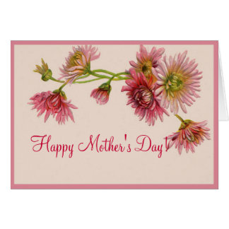 HAPPY MOTHER'S DAY MUMS by SHARON SHARPE Card