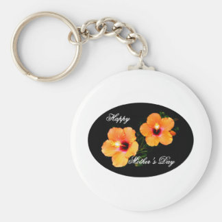 Happy Mother's Day Oval IMG_0470 Key Chain