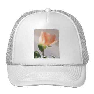 Happy Mother's Day! - Pale Pink Cut Rose 1 Trucker Hats