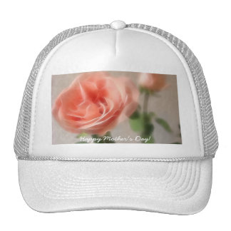 Happy Mother's Day! - Pink Cut Roses - Time Trucker Hats