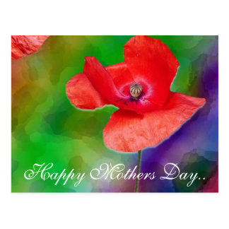 Happy Mothers Day.. Postcard