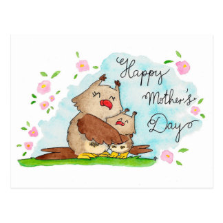 Happy Mother's Day postcard by Nicole Janes