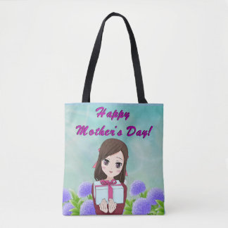 Happy Mother's Day Present (Customizable) Tote Bag