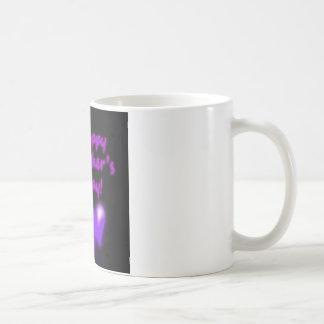 Happy Mother's Day Purpl Hearts Coffee Mug