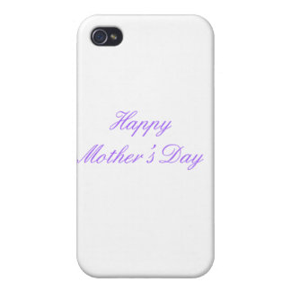 Happy Mother's Day Purple The MUSEUM Zazzle Gifts iPhone 4/4S Covers
