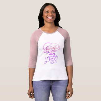 Happy Mother's Day Raglan T-Shirt
