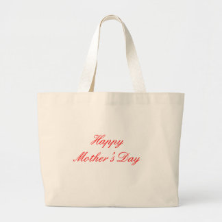 Happy Mother's Day Red The MUSEUM Zazzle Gifts Canvas Bag
