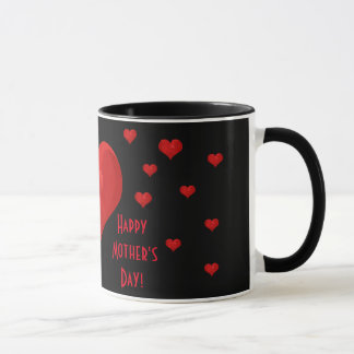 Happy Mother's Day Romantic Sweet Love Hearts Mug