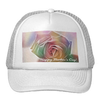 Happy Mother's Day! - Rose - Colors Trucker Hats