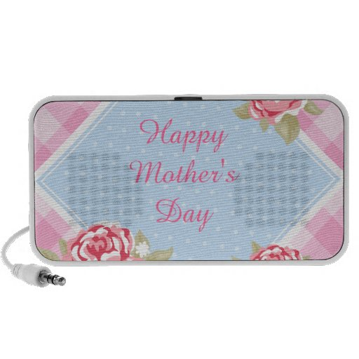 Happy Mother's Day Roses Travelling Speaker