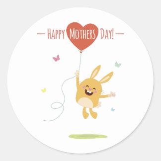 Happy Mothers Day Round sticker