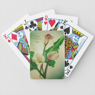 Happy Mother's Day - Scrap Book Calla's Bicycle Playing Cards