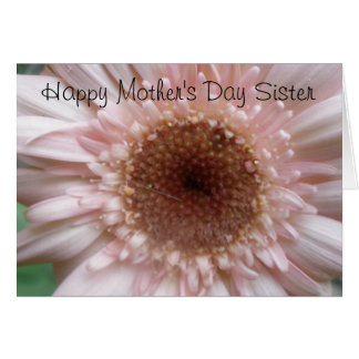 Happy Mother's Day Sister Card