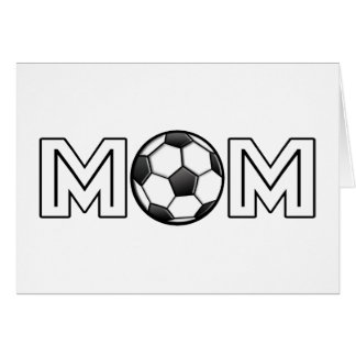 Happy Mother's Day Soccer Mum Card