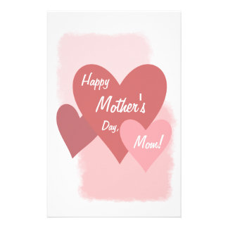 Happy Mother's Day Templates Personalized Stationery