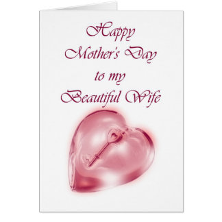 Happy Mother's Day to Wife from Husband Card
