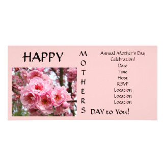 Happy Mother's Day to You! Celebration Invitaitons Photo Card Template