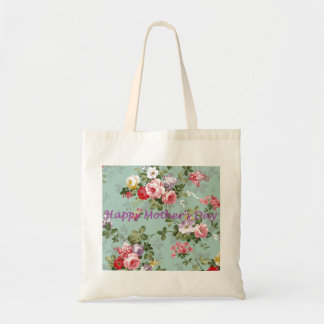 Happy Mother's Day - Vintage Floral Tote Bag