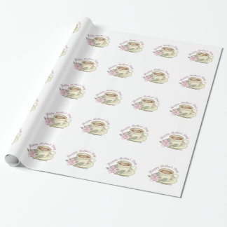 HAPPY MOTHERS DAY WRAPPING PAPER