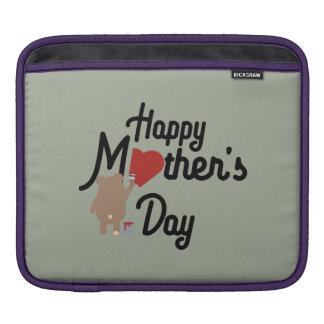 Happy Mothers day Zg6w3 iPad Sleeve