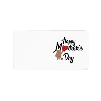 Happy Mothers day Zg6w3 Label