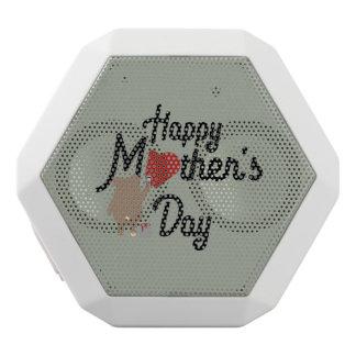 Happy Mothers day Zg6w3 White Bluetooth Speaker