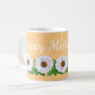 Happy Mother's Day Zinnia Garden Mug