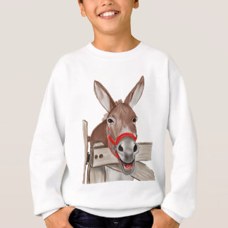Happy Mule PNG Sweatshirt