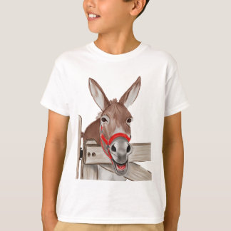 Happy Mule PNG T-Shirt