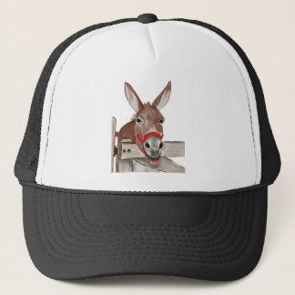 Happy Mule PNG Trucker Hat