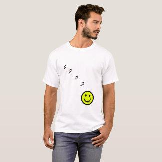 Happy Music Yellow T-Shirt