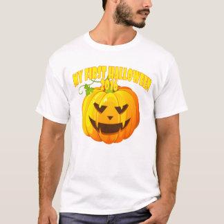 Happy my Halloween first custom pumpkin '.png T-Shirt
