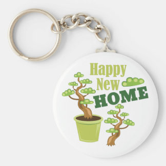 Happy New Home Key Ring