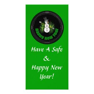 Happy New Year 1 Photo Card