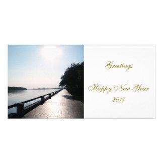 Happy New Year 2011 Customized Photo Card