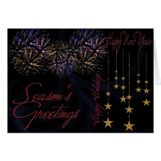 Happy New Year 2012 Happy Holidays Greeting Card