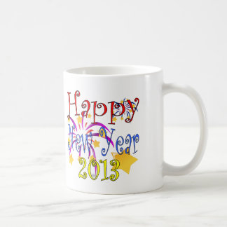 Happy New Year 2013 Coffee Mug
