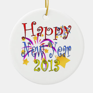Happy New Year 2013 Christmas Ornaments