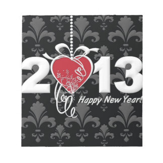 Happy New Year 2013 Notepads