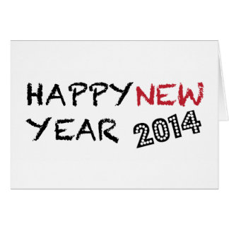 Happy New Year 2014 Cards, Invitations, Photocards & More