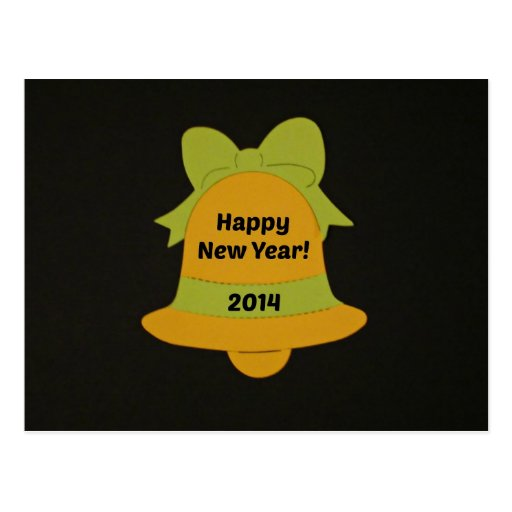 Happy New Year 2014 Post Card