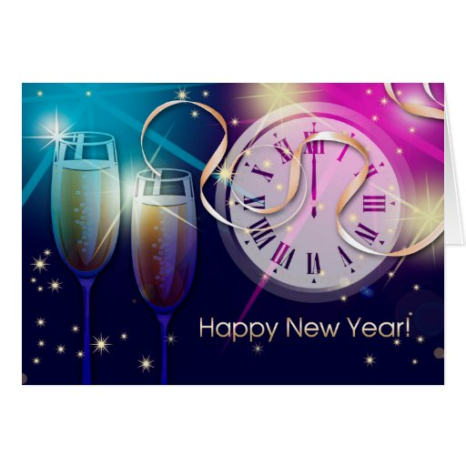 Happy New Year 2015. Customizable Greeting Cards