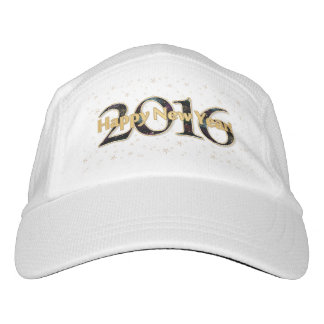 Happy New Year 2016 Stars Fireworks Hat