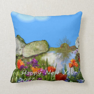 Happy New Year 2017. Cushion