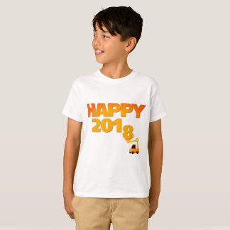 Happy New year 2018 eve kid T-Shirt