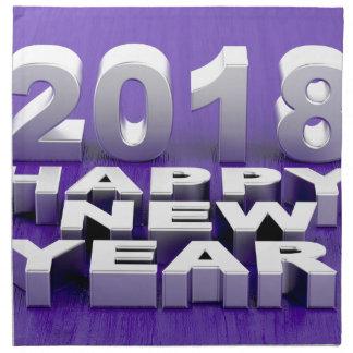 Happy New Year 2018 Napkin